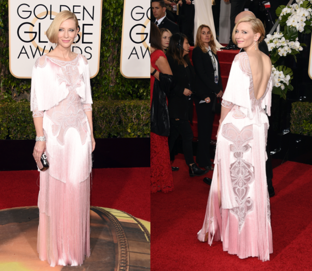 Cate Blanchett in Givenchy (Photos: Getty Images).