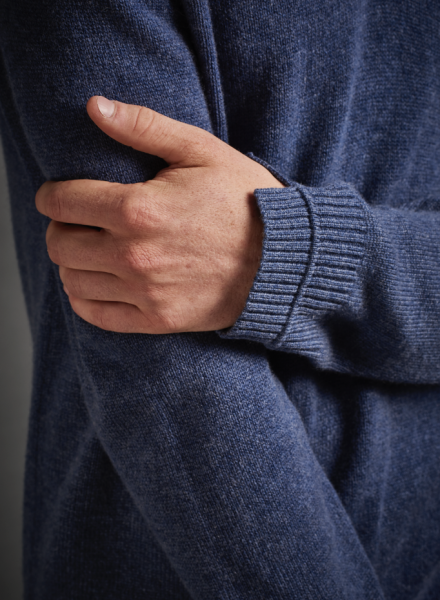 Details on a sweater (Photo: Courtesy Naadam).