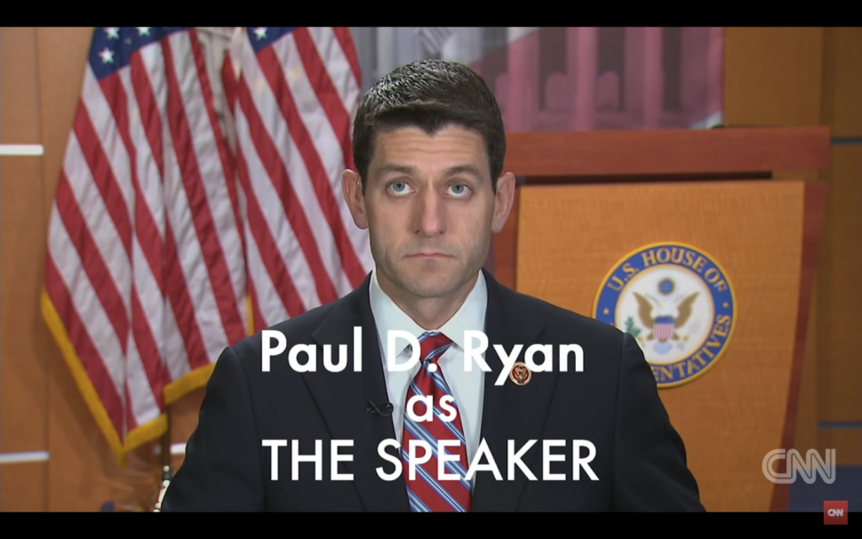 Speaker of the U.S. House of Representatives, Paul Ryan (Photo: CNN).