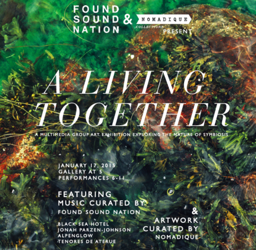 """""""A Living Together"""" at Pioneer Works."""