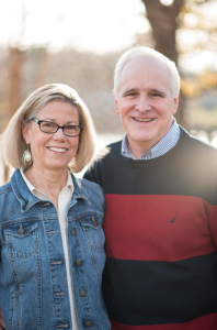 Patterson and his wife Mary Alice, of Haddonfield (Photo: Patterson for Congress)