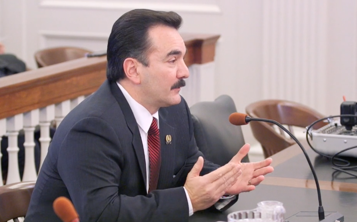 Prieto during Wednesday's hearings