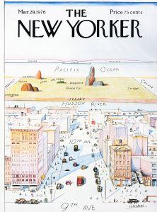 Steinberg New Yorker cover