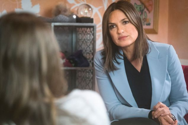 "LAW & ORDER: SPECIAL VICTIMS UNIT -- ""A Misunderstanding"" -- Pictured: Mariska Hargitay as Lieutenant Olivia Benson -- (Photo by: Michael Parmelee/NBC)"