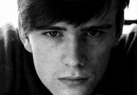 Stuart Sutcliffe modeling the first official 'Beatle cut'.