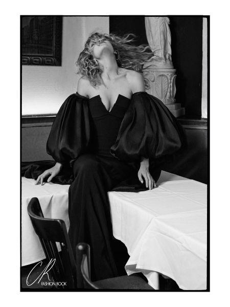 Gigi Hadid shot by Sebastian Faena (Photo: Courtesy CR Fashion Book).