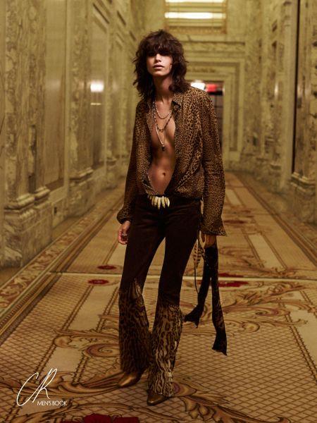 Presley Gerber shot by Bjorn Iooss (Photo: Courtesy CR Fashion Book).