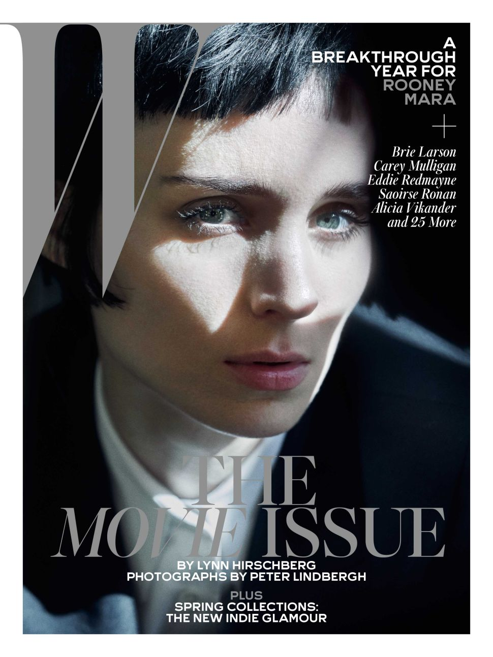 Rooney Mara, W Magazine February 2016 Cover (Photo: W Magazine).