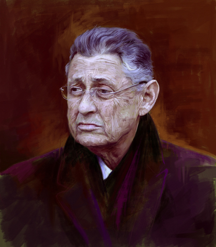 Sheldon Silver. (Illustration by Jason Seiler)