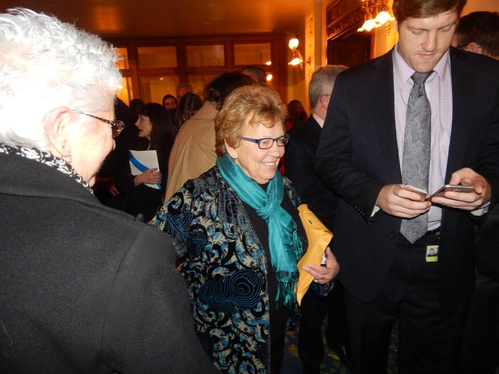 Senate Majority Leader Loretta Weinberg (D-37).