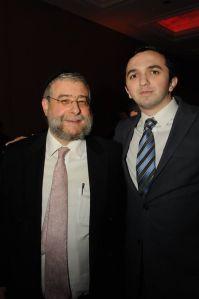 With Rabbi Goldschmidt