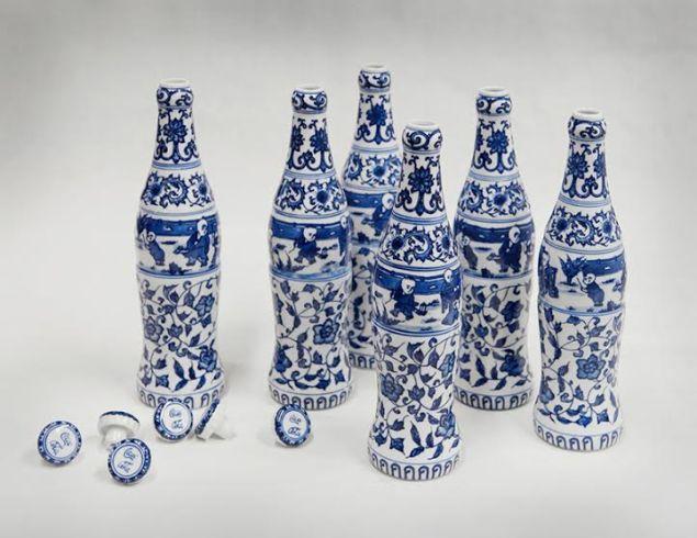 Zhang Hongtu, Kekou-Kele-(Coca-Cola-Six-Pack), 2002.
