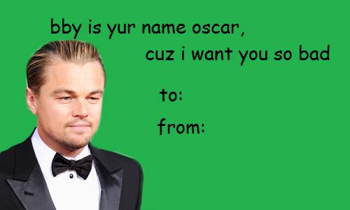 Leo and an Oscar are meant to be.