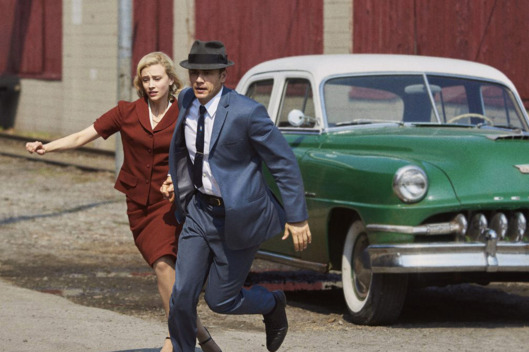 Sarah Gadon and James Franco in 11.22.63.