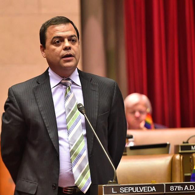 Assemblyman Luis Sepulveda (Photo: Facebook).