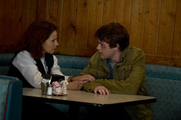 Lili Taylor and Connor Jessup in .