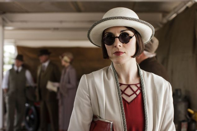 Michelle Dockery in Downton Abbey.