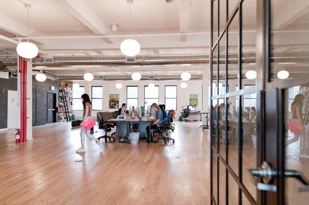Inside Tinybop's Brooklyn office.