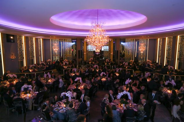 We assume it was a slightly different crowd at the Rainbow Room for the Bat Mitzvah Drake performed at.