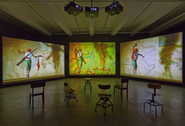 William Kentridge, Notes Towards a Model Opera, 2015. (Photo: Courtesy of William Kentridge and Marian Goodman Gallery)