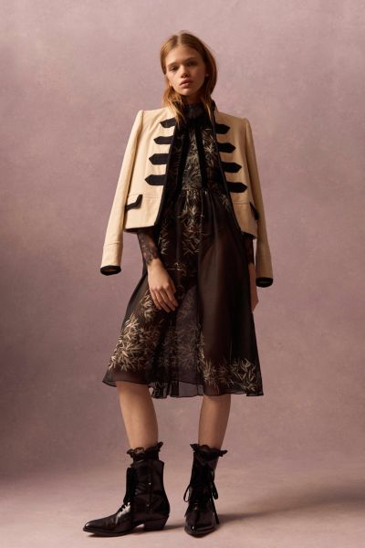 A Philosophy military coat (Photo: Courtesy Philosophy di Lorenzo Serafini).