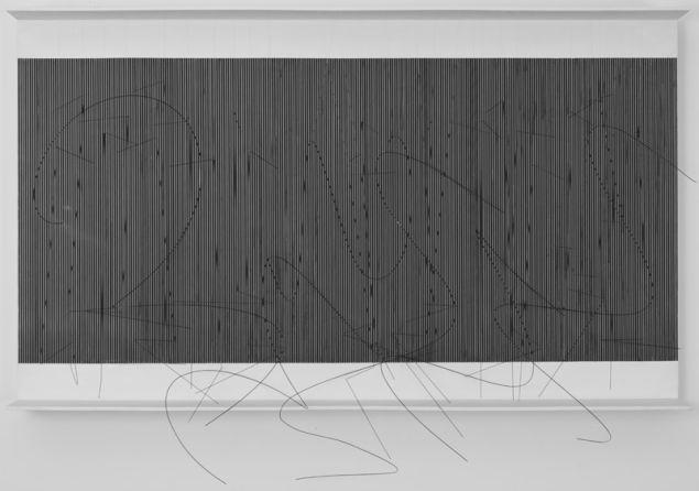 SotoJesus Rafael, Escritura Hurtado (Hurtado Writing), 1975. (Collection OAS AMA | Art Museum of the Americas)