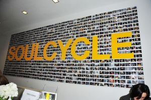 Upper East Side-esque amenities like SoulCycle and DryBar have opened up Tribeca locations. (Photo: Chance Yeh/Patrick McMullan.)