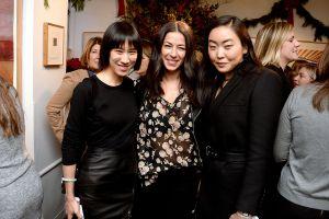 Eva Chen, Rebecca Minkoff, Aya Kanai== Cosmo 100 Luncheon== Michael's, NYC== December 7, 2015== ©Patrick McMullan== Photo - Clint Spaulding/PMC== ==