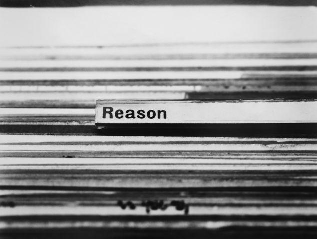 Erica Baum, Untitled (Reason), 1997.