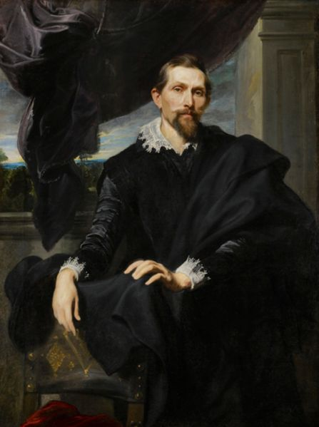 Sir Anthony Van Dyck (1599 - 1641) Frans Snyders, c.1620.