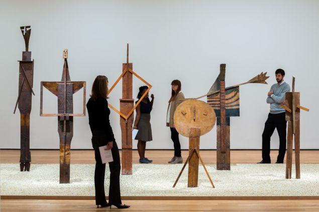 Installation view of Picasso Sculpture. The Museum of Modern Art, New York. © 2015, The Museum of Modern Art. Photo: Pablo Enriquez