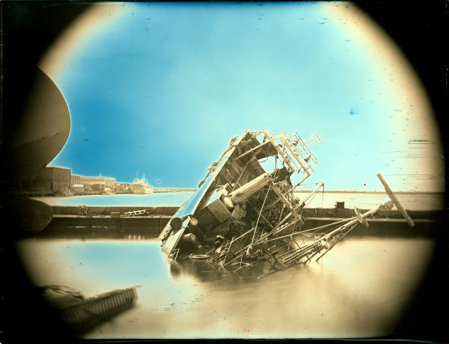 Arai Takashi (b. 1978) April 26, 2011, Onahama, Iwaki City, Fukushima Prefecture from the series Mirrors in Our Nights, 2011 Daguerreotype.