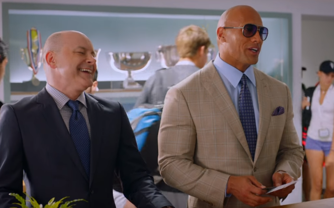 (Pictured left to right: Rob Cordry, not Vin Diesel)