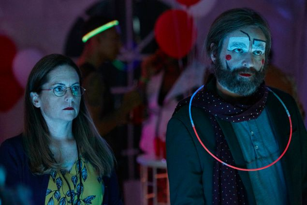 Martha Kelly and Zach Galifiniakis in Baskets.