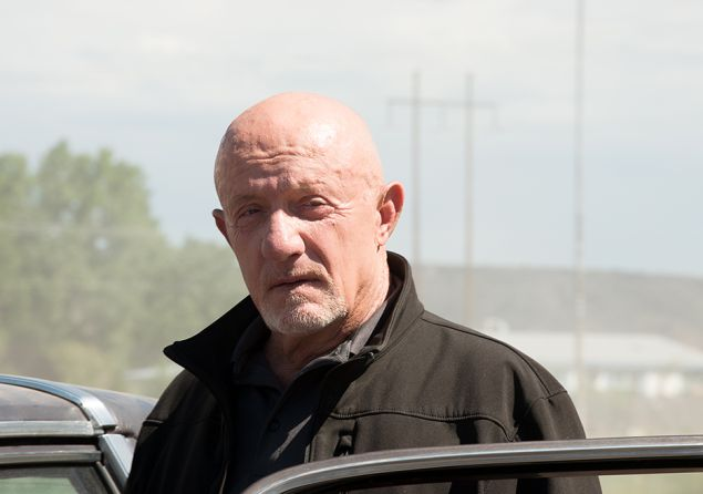 Jonathan Banks as Mike Ehrmantraut in Better Call Saul.