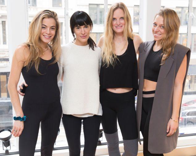 Tegan Bukowski, Jordan Daly, Athena Calderone, Chelsea Leyland (Photo: BFA).
