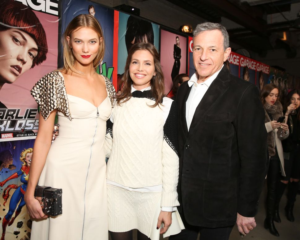 Bob Iger, Dasha Zhukova, Karlie Kloss (Photo: BFA).