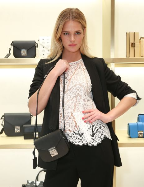 Erin Heatherton with the Patricia Crossbody