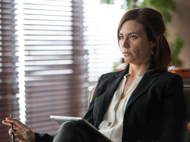 Maggie Siff as Wendy Rhoades in Billions. (Photo: JoJo Whilden/Showtime)