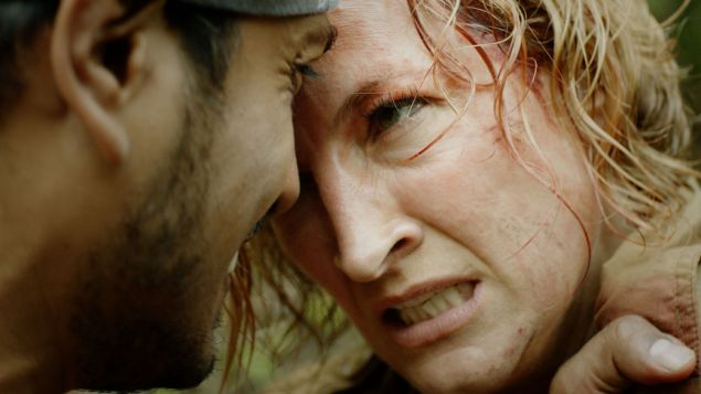 "Zoë Bell as Avery Taggert in the action film ""Camino""."