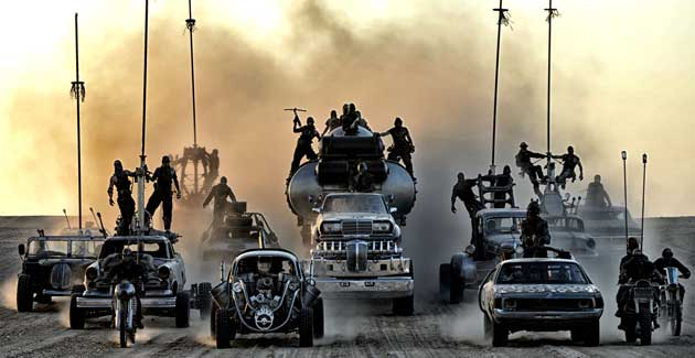 The stunt team from Mad Max: Fury Road won a SAG Award, but will not be recognized at the Oscars,