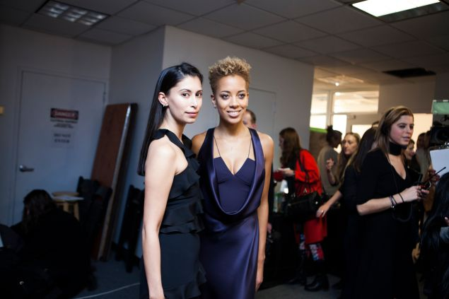 Michelle Ochs and Carly Cushnie