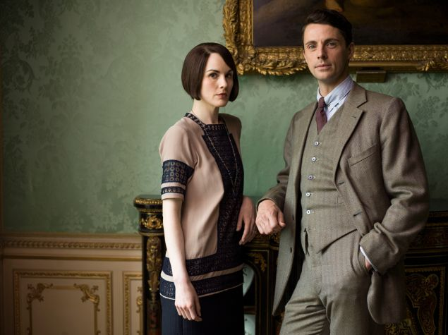 Lady Mary and Henry Talbot.