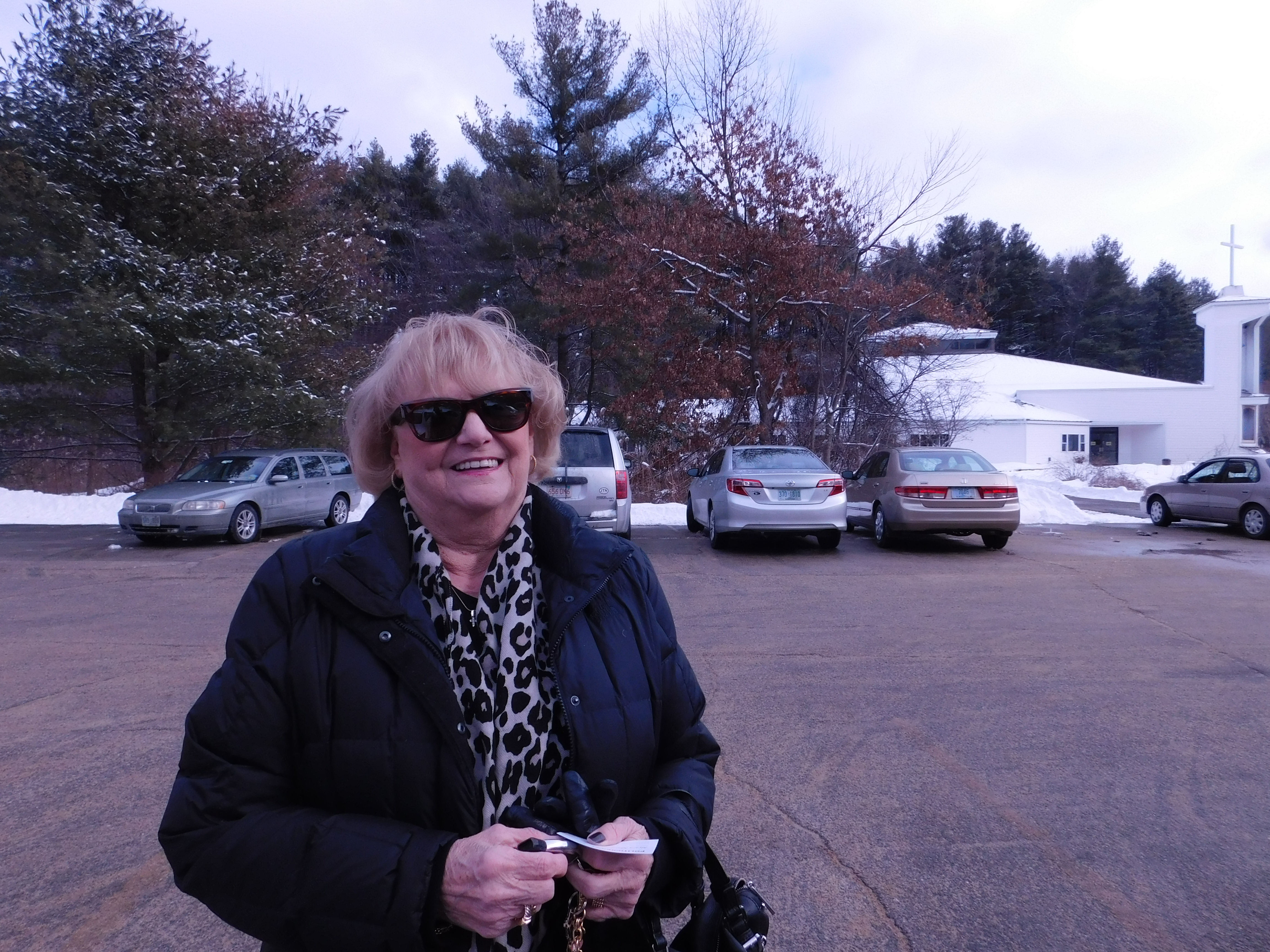 Joan Scontsas voted for Hillary Clinton.