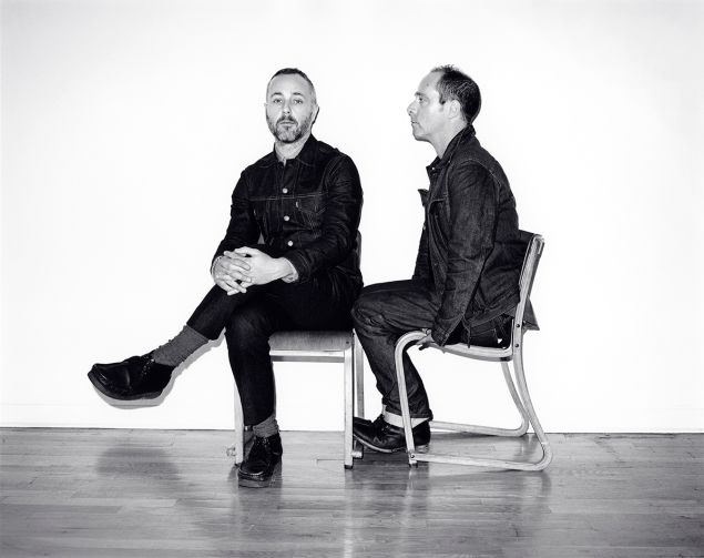 Duckie Brown designers Steven Cox and Daniel Silver (Photo: Courtesy Duckie Brown).