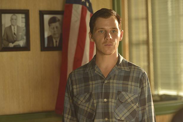 Daniel Webber as Lee Harvey Oswald.