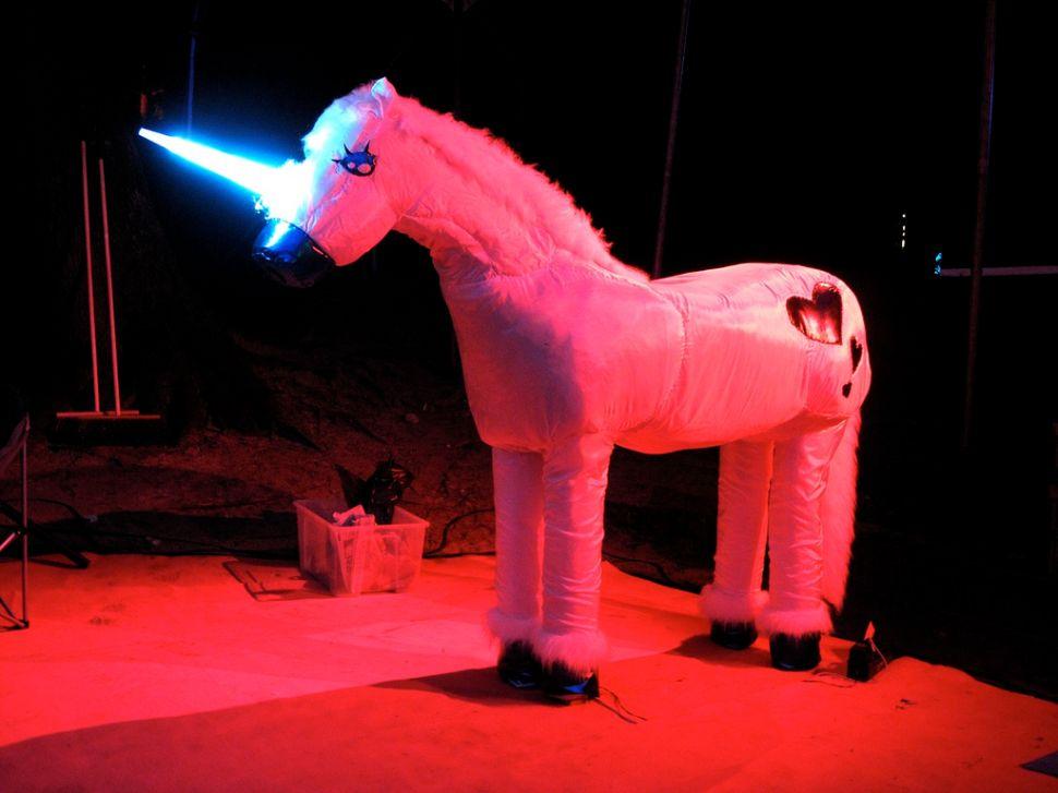 A less valuable unicorn.
