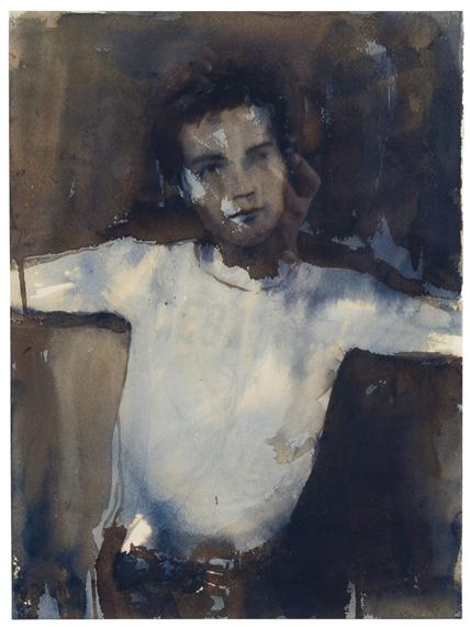 Elizabeth Peyton, John Lydon, Destroyed, (1994).