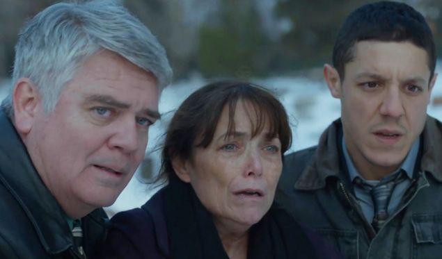Michael Harney, Karen Allen and Theo Rossi.