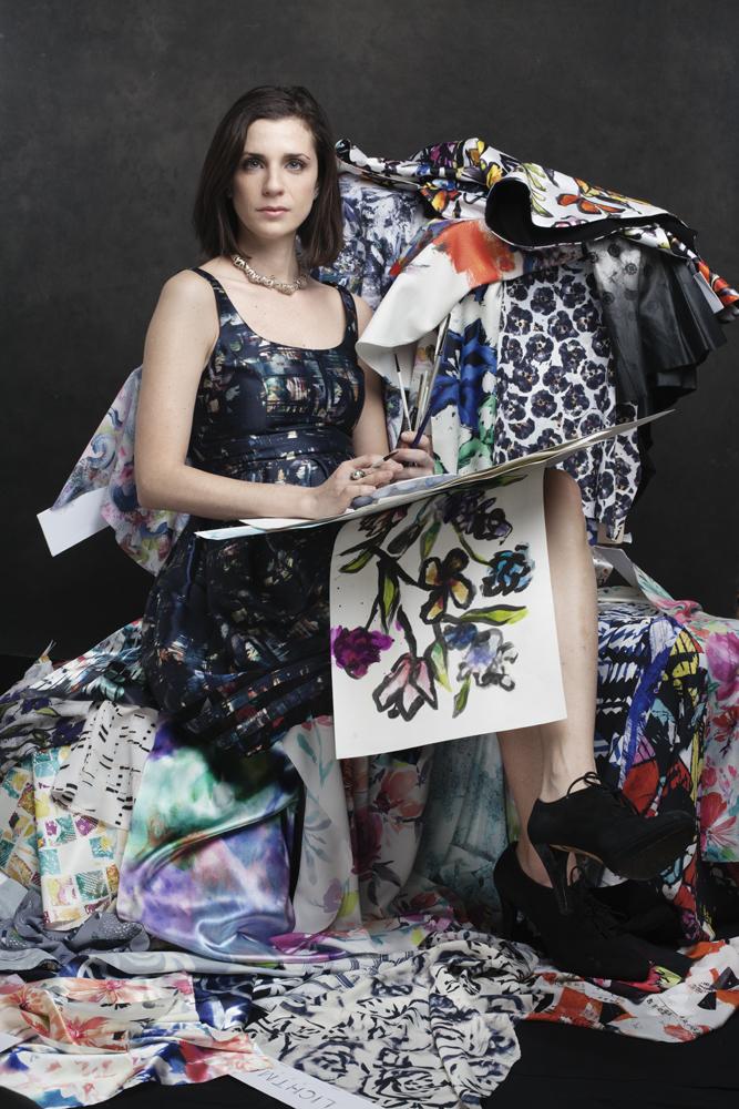 Abby Lichtman , Fashion week behind the scenes photo: celeste sloman / ny observer